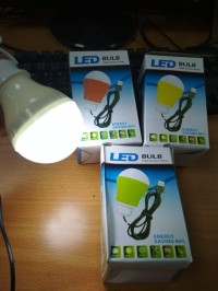 USB Lampu Bohlam LED BULB USB 7 Watt - HIGH POWER LAMP EKSTRA SAVING