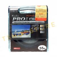 UV Filter Protector Kenko Pro1 55mm