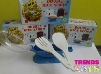 #EC065 / Centong Nasi Anti Lengket New Double Rice Spoon isi 2