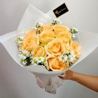 Hand Bouquet / Buket Bunga Wisuda / Buket Bunga / Bunga Mawar