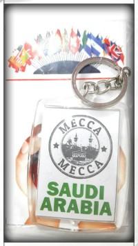 Souvenir gantungan kunci negara mecca mekah arab saudi arabia uea