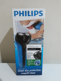 Philips Shaver Aqua Touch Electric, Wet & Dry AT600