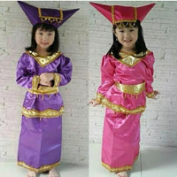 Pakaian adat anak baju padang - sumatra Lk/Pr
