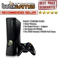 XBOX 360 SLIM 250GB 250 RGH full Game