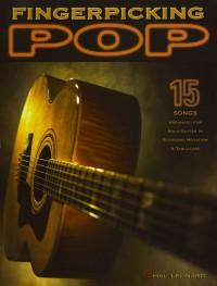Buku Gitar Fingerpicking Pop
