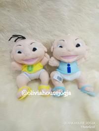 Boneka/Gantungan Cop Karakter Upin dan Ipin Cute