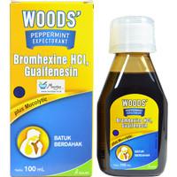 Woods Peppermint Expectorant 100 mL - Obat Batuk Berdahak