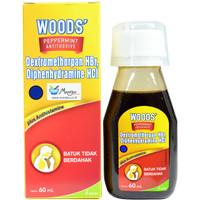 Woods Peppermint Antitussive 60 mL - Obat Batuk Tidak Berdahak