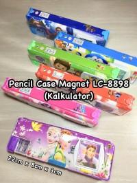 Pencil Case/Tempat pensil Magnet LC-8898