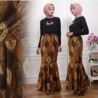 Rok panjang instan duyung maxi skirt setya batik
