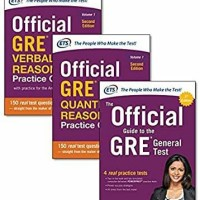 Official GRE Super Power Pack: General, Verbal and Quantitative