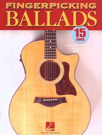 Buku Gitar Fingerpicking Ballads
