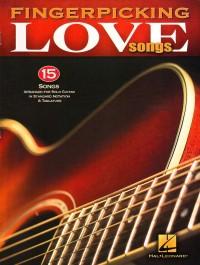 Buku Gitar Fingerpicking Love Songs