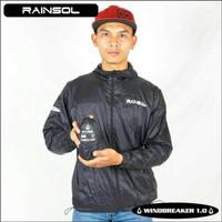 Jaket Windbreaker Rainsol / Anti Angin / Jaket Motor