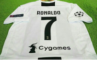 JERSEY JUVENTUS HOME FULL PATCH UCL + NAMESET RONALDO NOMOR 7 NEW SEAS