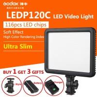 Godox LED Light 120C - Free Battery Lithium F570 & Charger