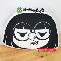 The Incredibles Edna Mode Bantal Boneka Plushie Pillow Doll Bday Gift
