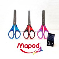 Maped Pulse Essentials Scissors ( Gunting )