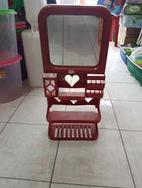 Cermin Kotak Tempel Dinding Minimalis 3 Susun