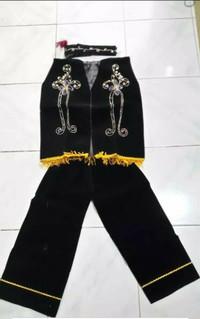 Pakaian adat dayak anak baju kalimantan Lk - Pr