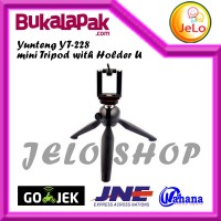 YUNTENG YT-228 Mini Tripod w/ Holder U (ORIGINAL)
