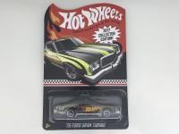 Hot Wheels Die Cast 76 Ford Gran Torino Ban Karet Langka
