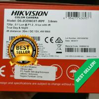 Kamera CCTV Indoor HIKVISION DS-2CE56C0T-IRPF Plastik Bkn Avtech/Dahua