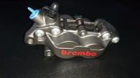 Kaliper Brembo 1 pin 4 piston Grey Kiri Original Brembo