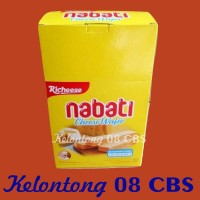 Snack Wafer Keju Richeese Nabati Per Pak Isi 20 Pcs @8Gr - Ecer