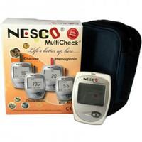 Nesco multicheck GCU glucose /UA/cholesterol
