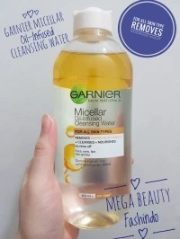 Micellar Oil Infused Garnier Cleansing Water Makeup Remover 400ML 400