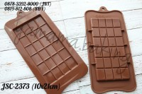JSC-2373 Cetakan Silikon coklat fondant coklat blok batangan chocolate