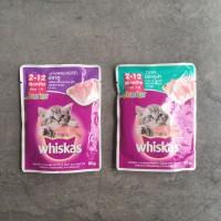 Makanan kucing - Whiskas Junior Pouch 85gr