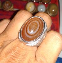 Batu Yaman Motif Puser Bumi bukan Bacan Ruby Zambrud Saphire solar