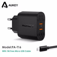 Aukey Qualcomm PA-T16 DUAL Quick Charger 3.0