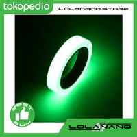 Glow In The Dark Luminous Adhesive Tape 1.5 cm x 10 m / Lakban - Multi