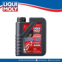 Liqui Moly Motorbike 4T Synth 10W-60 Street - Oli Motor 1525