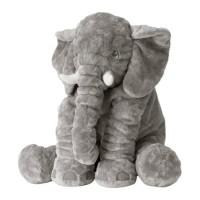 boneka gajah IKEA JÄTTESTOR Boneka, gajah, abu-abu