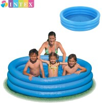 Kolam Renang Anak 3 Ring Crystal Blue Pool Intex 59416 (114 x 25 cm)