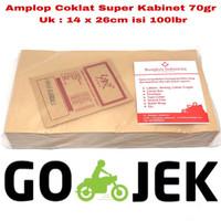 BIG SALE AMPLOP COKLAT SUPER KABINET