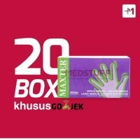 Sarung Tangan Handscoon Gloves Maxter (20 Box) Khusus Gojek