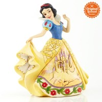 Disney Traditions Snow White with Castle Dress Figurine