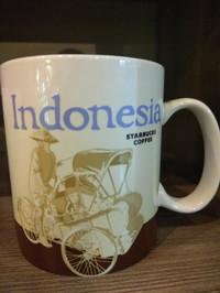 Mug Indonesia by starbucks Indonesia