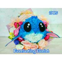 Bucket Stitch (i905) Buket Bunga Boneka Kelinci Bouquet Wedding Wisuda