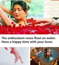 sabun bunga mawar 3 kuntum love hati Valentine wedding PROMO