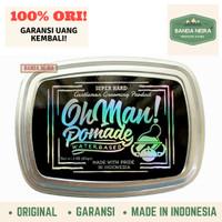 Oh Man Pomade Mystic Grey Original Lokal Murah