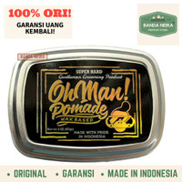 Oh Man Pomade Mystic Gold Original Lokal Murah