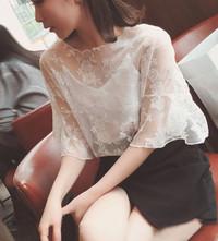 kaos teddy bear shirt wanita polo summer oblong casual v neck putih