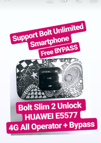 Modem Bolt Slim 2 Unlock 4G ALL OPERATOR