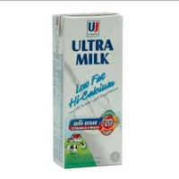 Susu UHT Ultra Milk Low Fat Plain 250 ml